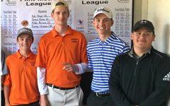Vollmar, VanSteenburg, Gronauer earn All-League honors in golf