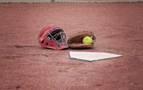 Softball sweeps the Blackhawks