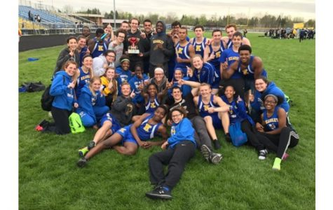 Girls track and field wins tie-breaker for K-O Clash