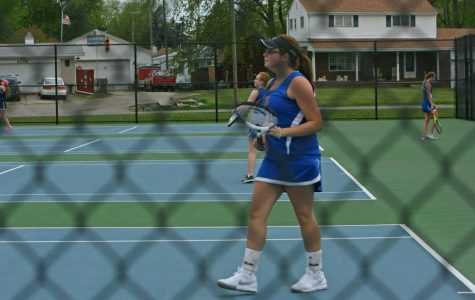 Hornets, Trojans tie in tennis at K-O Clash