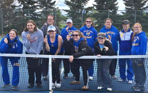 Tennis placed third at quad match
