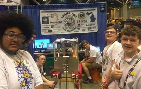 Robotics advanced to the quarterfinals in world competition
