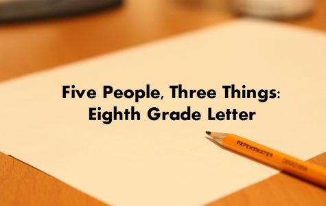 Eighth-grade letters remind seniors of goals they wanted to achieve