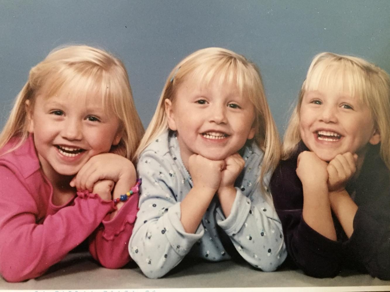 growing up being a triplet can be hard but brings you closer