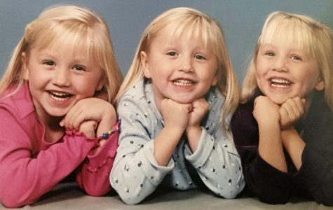 Growing up being a triplet can be hard, but brings you closer together