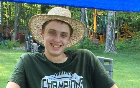 Kyle Palka balances school, sports, work