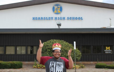 Patrick takes the crown in Mr. Kearsley competition