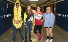 Seniors celebrate Halloween