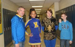 Simms, freshmen enjoy blue and gold day