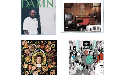Listen to the four best albums I've heard this year