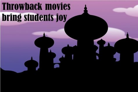 Throwback movies bring students joy