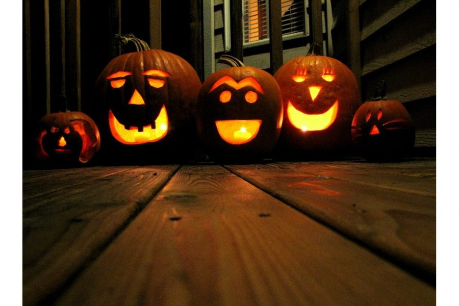 Jack-o'-lanterns are a modern Halloween tradition.