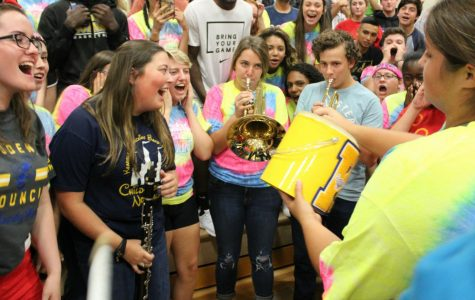 KHS pumps up the spirit on first day of homecoming week