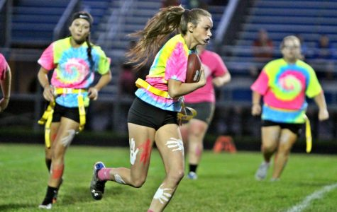 Powder puff girls face off in semifinal games