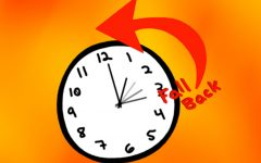 Daylight saving time ends, clocks will be set back one hour