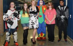 Students don scary, funny, creative costumes