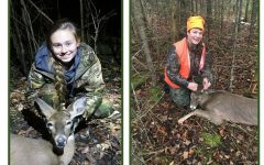 Students enjoy hunting with their family