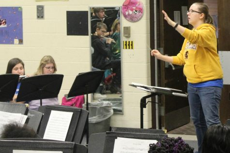 New band director enjoys teaching her students music