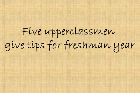 Upperclassmen share their experience to help freshmen