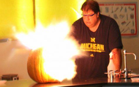 Christian's class blows up with Halloween spirit