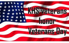 KHS veterans honor Veterans Day