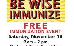 Flint Farmer's Market offers free immunizations this Saturday