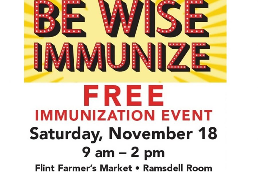 Flint+Farmers%27+Market+is+offering+free+immunizations+Saturday.+Nov.+18.