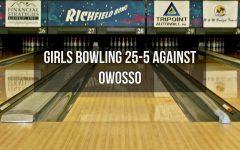 Girls bowling defeats Owosso