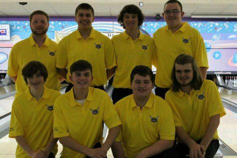 Boys bowling takes down the Trojans