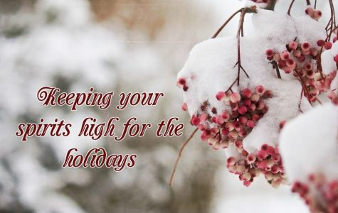 Tips to keep your spirits high for the holidays