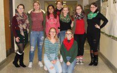 Students celebrate spirit week before break