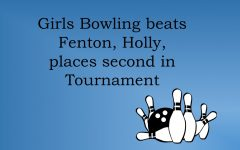Girls bowling defeats Holly, Fenton