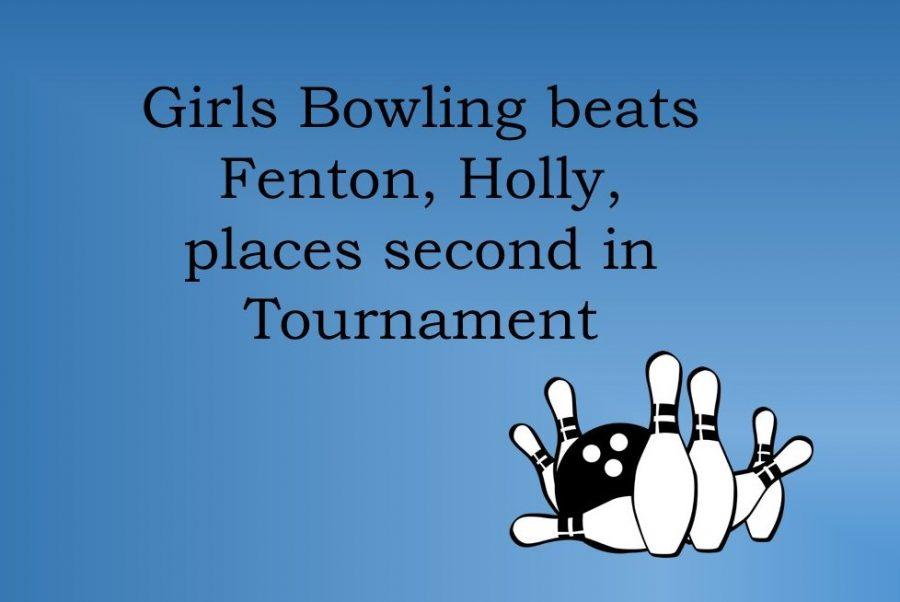 The girls bowling team is now 4-0 this season.