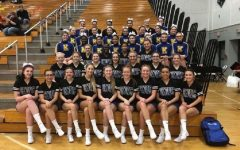 Competitive cheer tumbles into fourth
