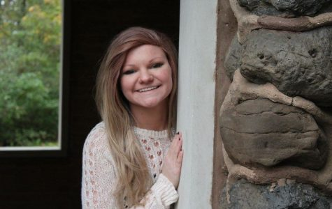 A typical senior, Megan DeLong loves friends, swimming, and … tractors?