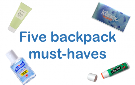 Five items every backpack must have
