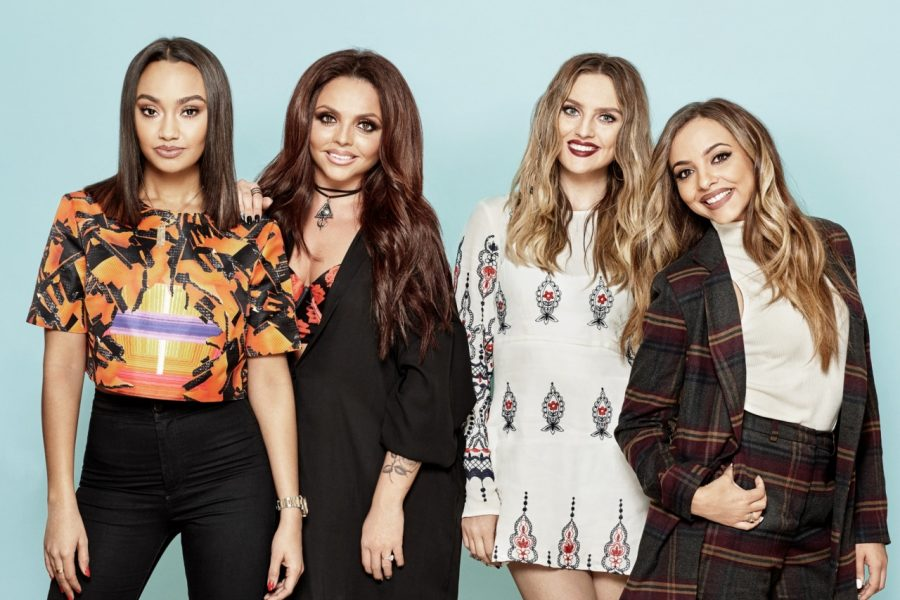 Leigh-Anne Pinnock, Jesy Nelson, Perrie Edwards, and Jade Thirlwall (L to R)