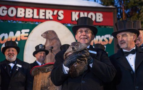 Punxsutawney Phil sees shadow, more winter to come