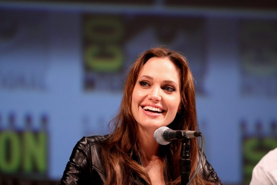 Angelina Jolie inspires others with her passion and strong will.