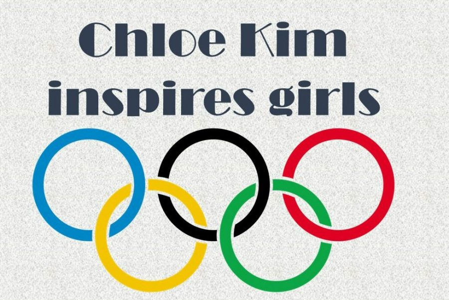 Girls across the globe are inspired by Chloe Kim.
