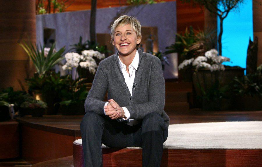 Degeneres enjoys hosting her hit daytime talk show.