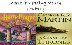 March is Reading Month: Fantasy books transport readers to different worlds