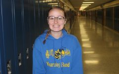 Lindsey Bouchard loves being a 'band geek'