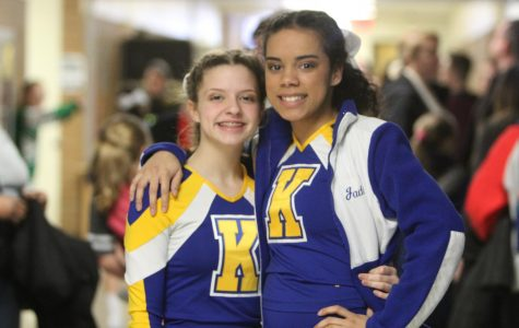 Miller, Brown celebrate a cheer victory