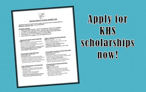 Seniors should apply for Kearsley scholarships