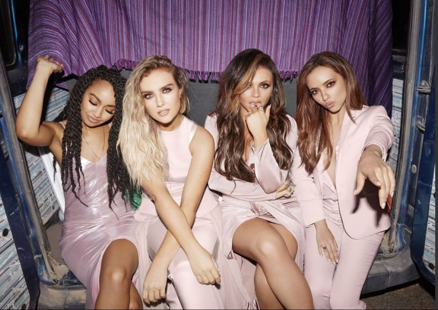 Leigh-Anne Pinnock, Perrie Edwards, Jesy Nelson, and Jade Thirlwall are the British singing group Little Mix.