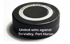 Hockey is victorious against Tri-Valley, Port Huron