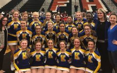 Cheer leaves district as runner-up, advances to regional