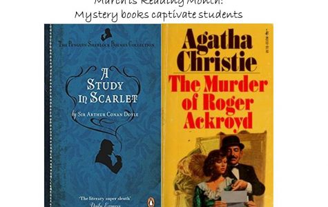 March is Reading Month: Mystery books captivate students