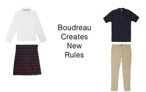 Boudreau creates new rules